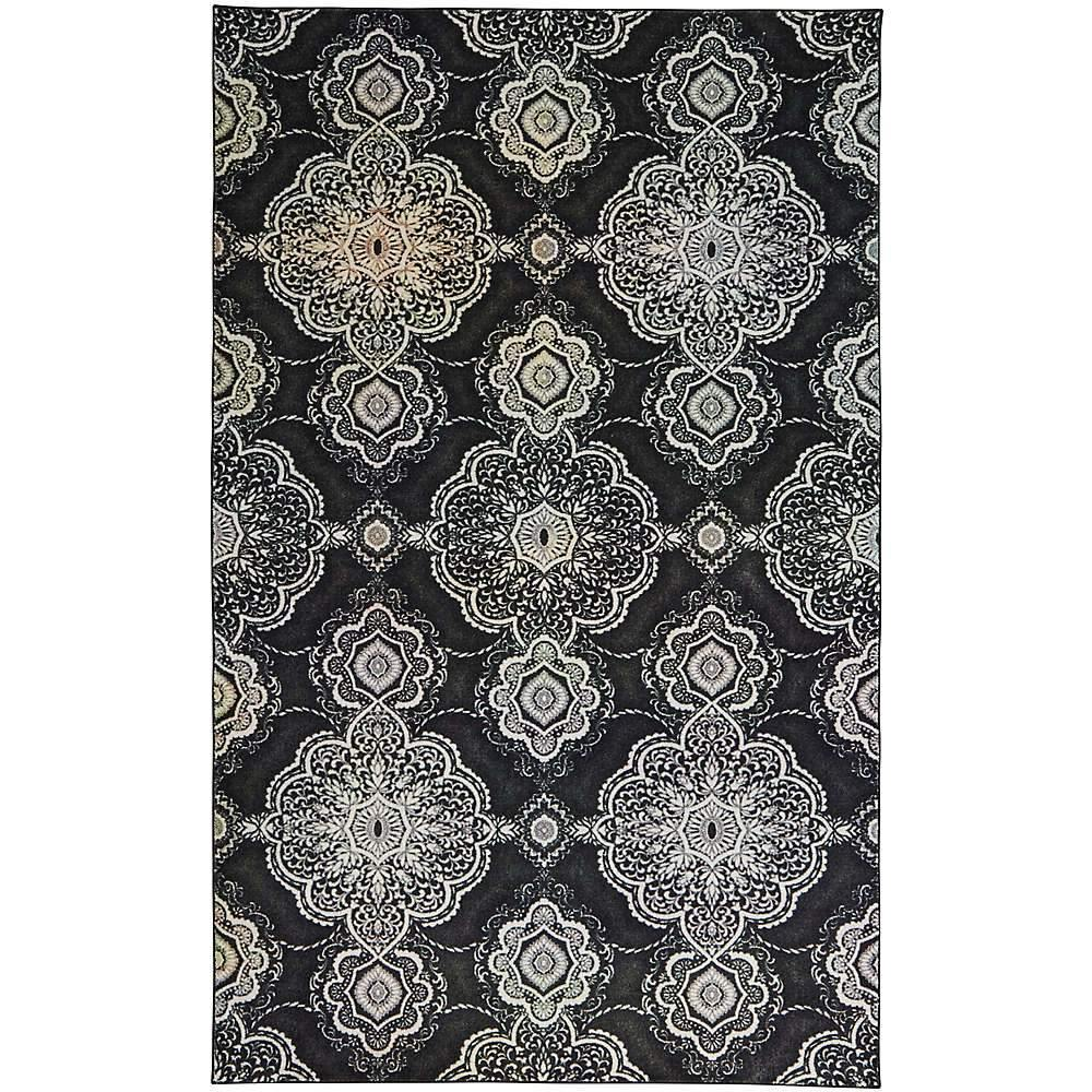 Mohawk Prismatic Isabella Charcoal Z0085-A248 Area Rug