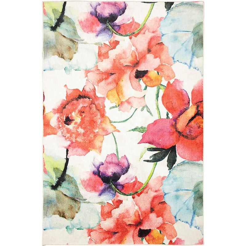 Mohawk Prismatic Watercolor Bouquet Multi Z0344-A416 Area Rug