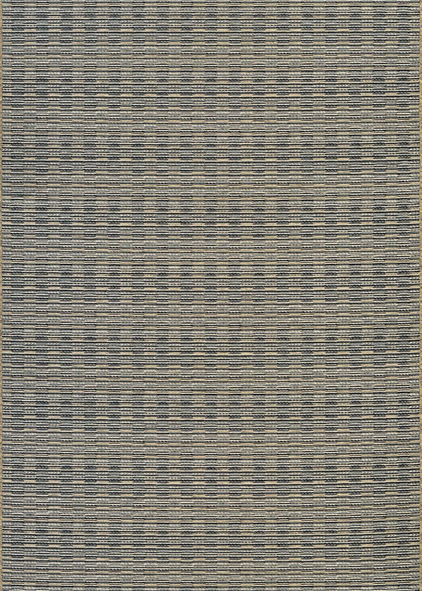 Couristan CAPE BARNSTABLE 9832-7939 BLACK/GOLD Area Rug