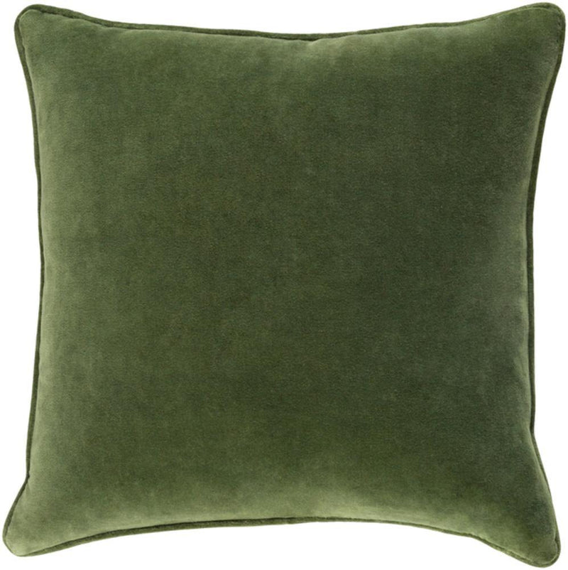 Artistic Weavers Safflower SAFF-7194 Grass Green Pillow Cover