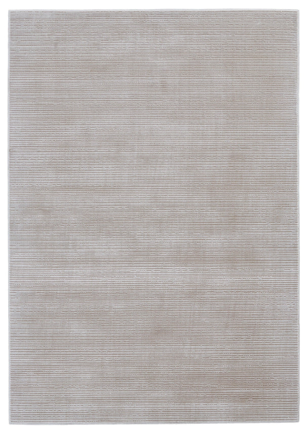 Feizy MELINA 714-3400F BIRCH / WHITE Area Rug - The Rug Store