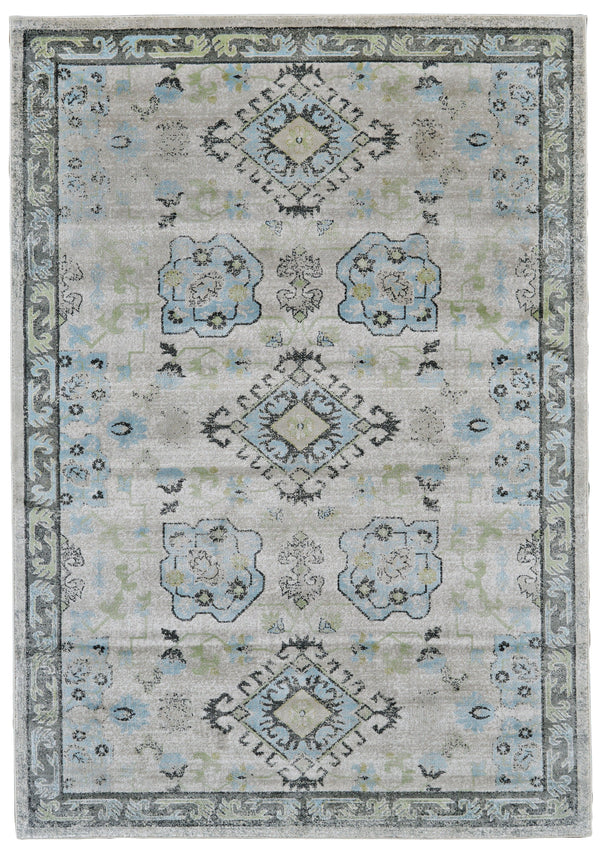 Feizy KATARI 661-3378F BIRCH / STERLING Area Rug - rug store usa