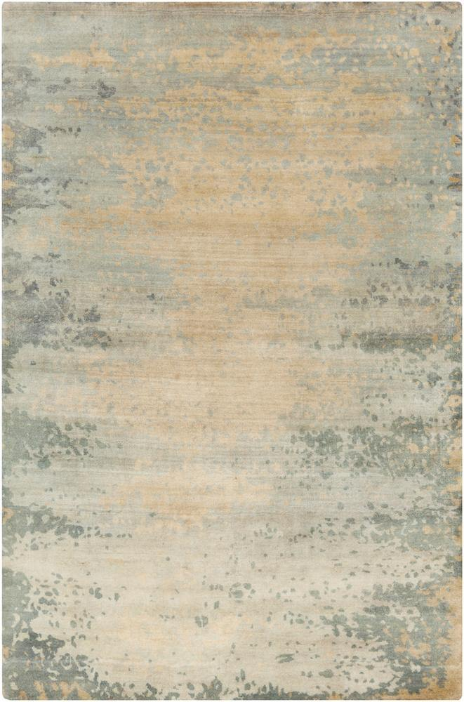 Candice Olson Slice of Nature SLI-6401 Light Gray Area Rug