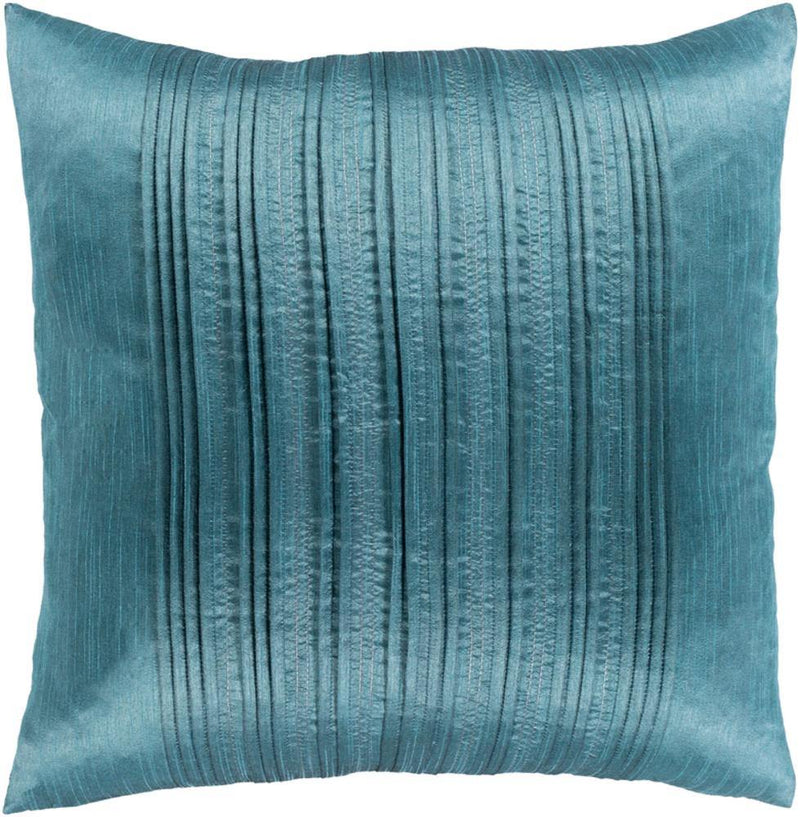 Surya Yasmine YSM-002 Teal Pillow Cover