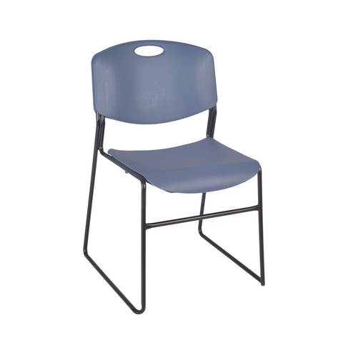 Regency Zeng Stack Chair Blue