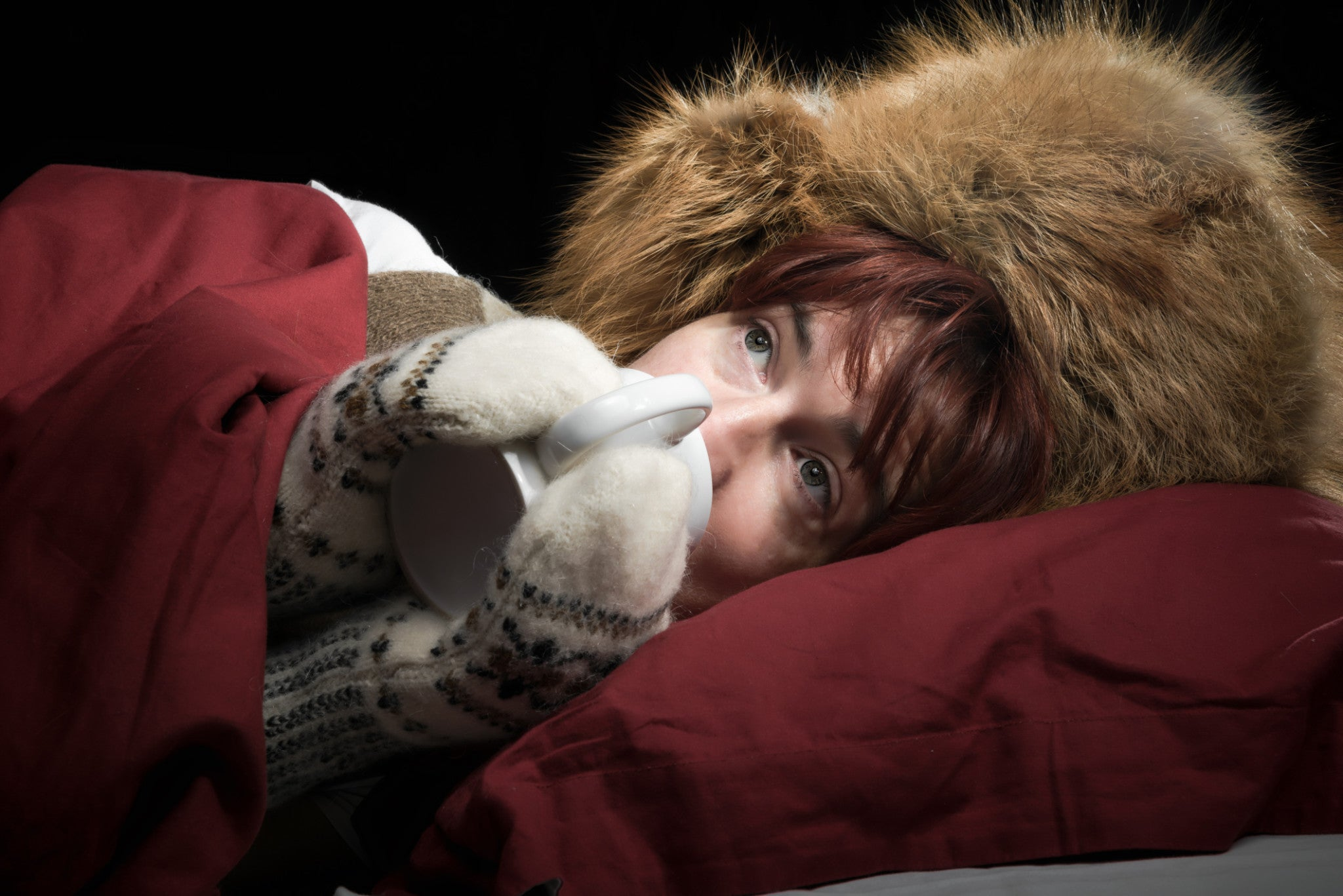 How to Fall Asleep When it's Too Cold Outside