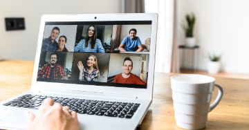 Virtual support meeting