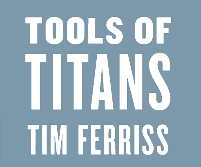 Logo - Tools of Titans Tim Ferriss