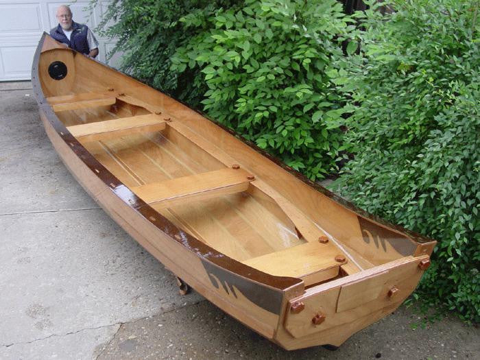 North Lakes 19 Freighter Canoe Waters Dancing Boat Kit