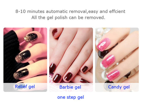 Automatic Gel Nail Polish Steam Off Remover Machine - Professional & Home Use