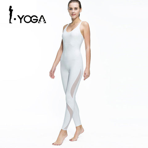 NEW 2017 Women Fitness Yoga Set Gym Sports Running Jumpsuits Jogging Dance Tracksuit Breathable Quick Dry Spandex Sportswear