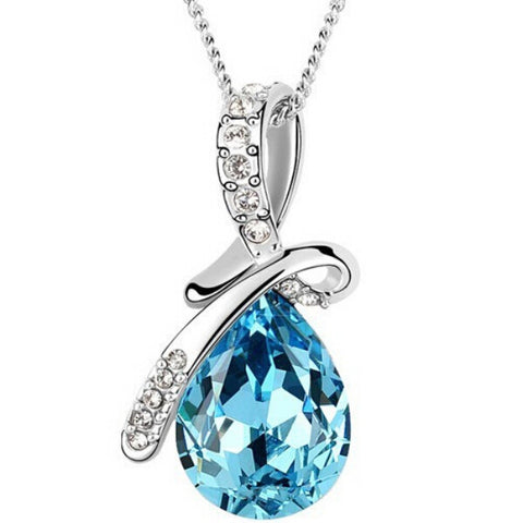 NEW 2017 Austrian Crystal Necklace Pendant Jewerly