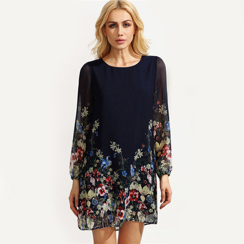 Jennifer Floral Boho Dress