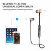 Wirefree™ Wireless Bluetooth Earphones