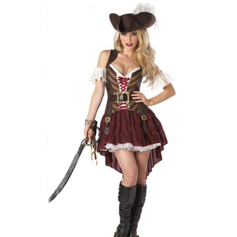 Pirates of the Caribbean Women Pirate Costume