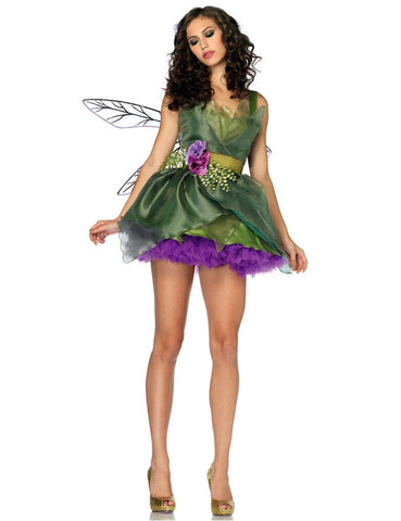 Woodland Green Fairy Princess 3pcs Costume