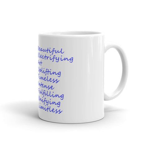 Black Love Is Beautiful Mug - Lane Apparel INC
