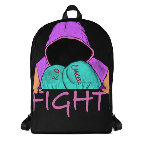 Beat Cancer Backpack - Lane Apparel INC