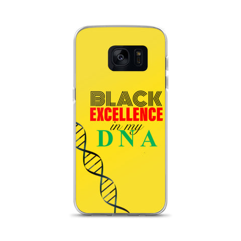 Black Excellence Samsung Case - Lane Apparel INC