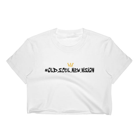 Old Soul New Vision Crop Top