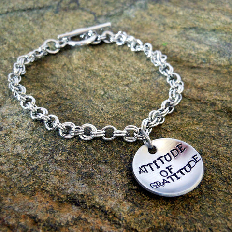 Personalized Bracelet - Toggle Clasp