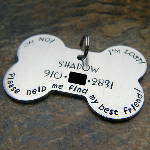 Personalized Pet Tag for Large Dog
