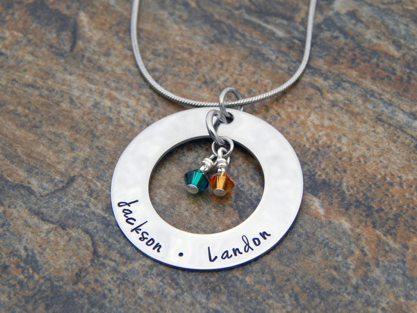 mother's pendant necklace