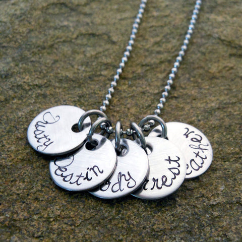 name tags necklace