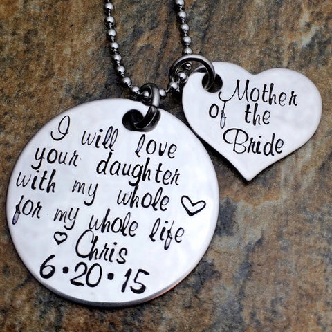 Personalized Mother of the Bride Gift