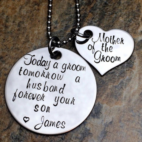 personalized mother of the groom gift