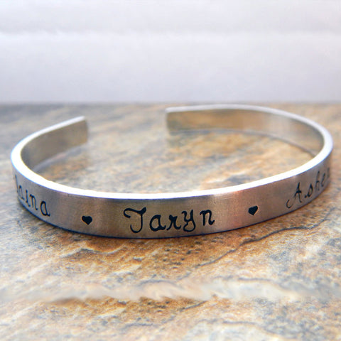 Personalized Cuff Bracelet - Name Bracelet