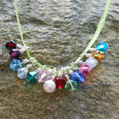 Add On - Sterling Silver Swarovski Crystals - Birth Month Crystals