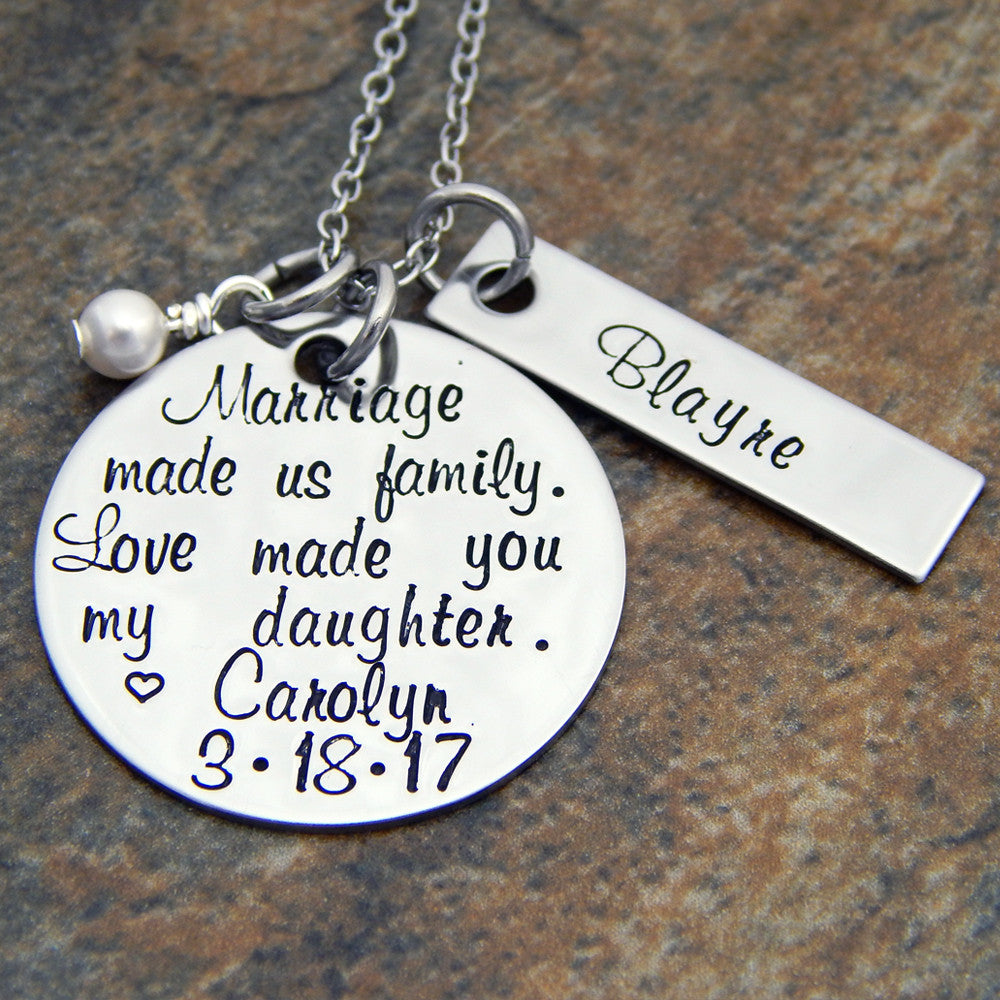 custom hand stamped jewelry personalized jewelry mother s jewelry