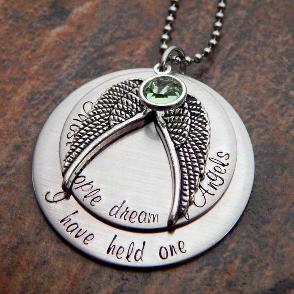 memorial silver to writing actual pendant loved pin you jewelry order for your made ones
