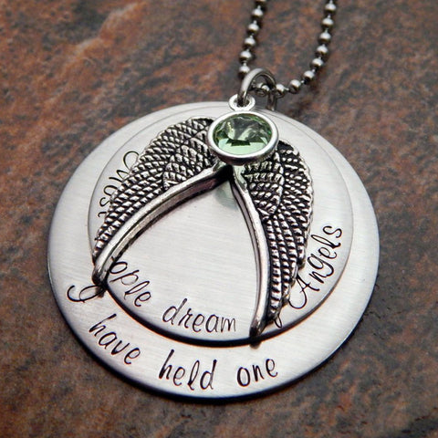 infant loss memorial necklace
