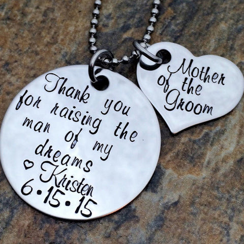 Personalized Gift for Mother-In-Law - Wedding Day Gift for Bride's Mother