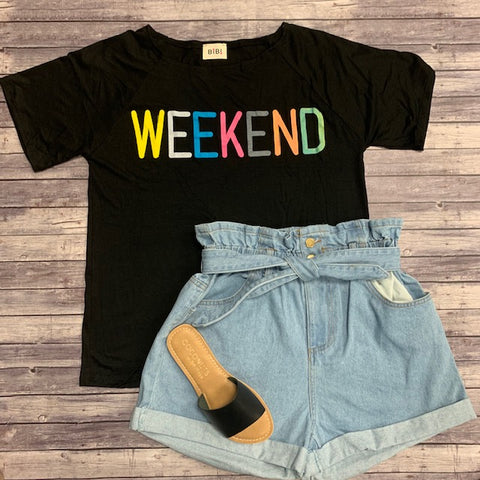 WEEKEND TOP