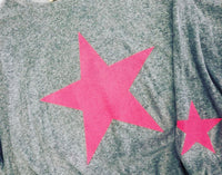 STAR OVER SIZED SHIRT