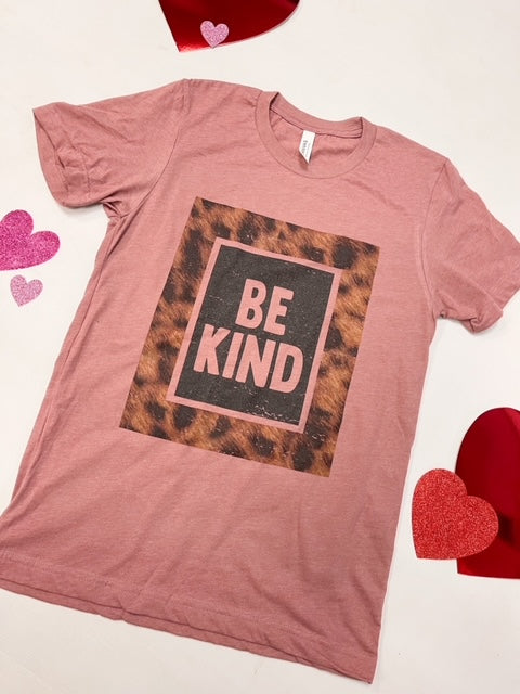 LEOPARD BE KIND TEE