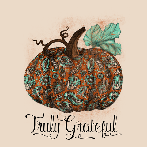 CLASSIC GRATEFUL PUMPKIN