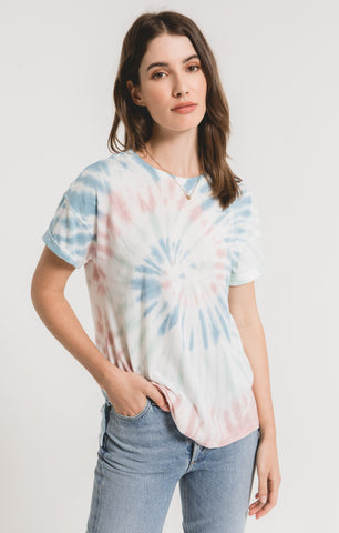 MULTI COLOR TIE DYE TEE