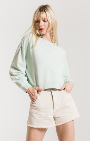 COTTON TERRY TOP