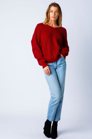 ALL KNOTTED UP SWEATER
