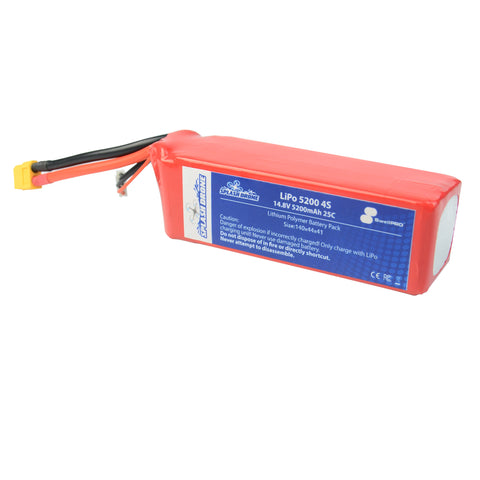 Splash Drone Battery 5200mAH 4S 25C 14.8V - H2O Rescue Gear
