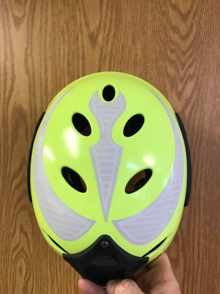Helmet Stickers - Glow and Reflective - H2O Rescue Gear