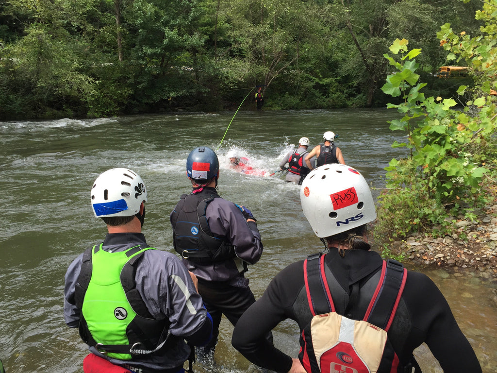 H2O Fluvial aca swiftwater rescue instructor update/upgrade – h2o rescue gear