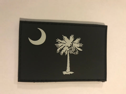 SC Flag Glow PVC Patch - H2O Rescue Gear