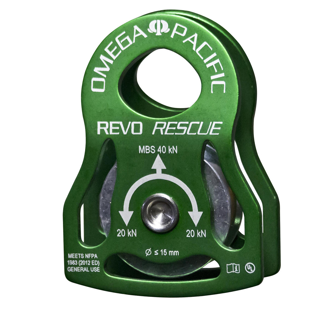 Omega Revo Rescue Pulley - H2O Rescue Gear
