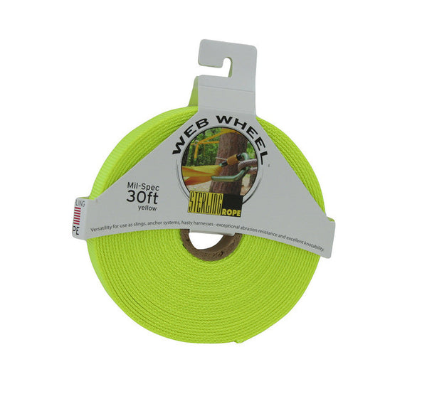 "1"" Tubular Mil-spec Webbing Wheels 30' - H2O Rescue Gear"