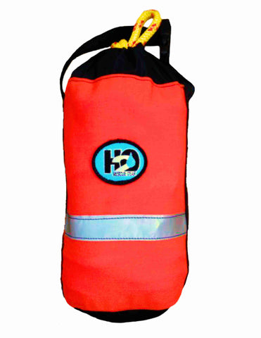 "Big Shot Throw bag holds 75' of 3/8"" Grabline or Ultraline.  This is a strong, durable bag needed for the big hauls."